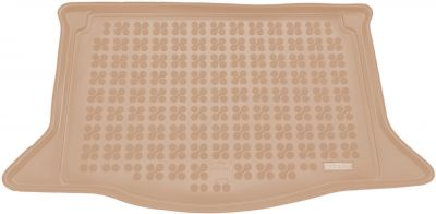 REZAW-PLAST beżowy gumowy dywanik mata do bagażnika Honda Jazz III od 2008-2015r. 230523B/Z