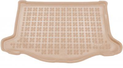 REZAW-PLAST beżowy gumowy dywanik mata do bagażnika Honda Jazz IV od 2013r. 230529B/Z