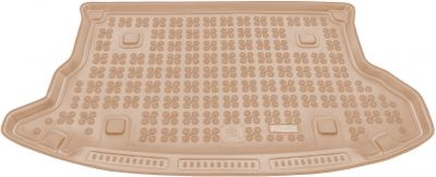 REZAW-PLAST beżowy gumowy dywanik mata do bagażnika Hyundai Tucson I od 2004-2010r. 230611B/Z