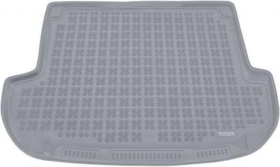 REZAW-PLAST popielaty gumowy dywanik mata do bagażnika Hyundai Santa Fe 5os. od 2006-2012r. 230614S/Z