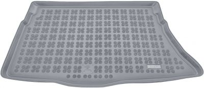 REZAW-PLAST popielaty gumowy dywanik mata do bagażnika Hyundai i30 II Hatchback od 2012-2016r. 230630S/Z