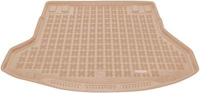 REZAW-PLAST beżowy gumowy dywanik mata do bagażnika Hyundai i30 II Kombi od 2011-2017r. 230631B/Z