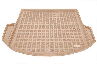 REZAW-PLAST beżowy gumowy dywanik mata do bagażnika Hyundai Santa Fe 5/7os. od 2012r. 230632B/Z