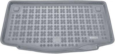 REZAW-PLAST popielaty gumowy dywanik mata do bagażnika Hyundai i10 Hatchback od 2014r. 230633S/Z