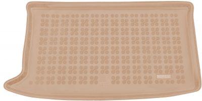 REZAW-PLAST beżowy gumowy dywanik mata do bagażnika Hyundai i20 Comfort od 2014r. 230635B/Z