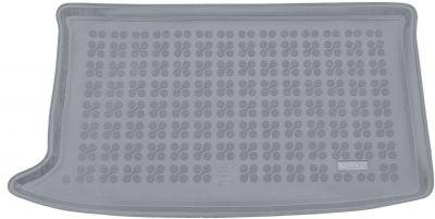 REZAW-PLAST popielaty gumowy dywanik mata do bagażnika Hyundai i20 Comfort (górna podłoga bagażnika) od 2014r. 230635S/Z