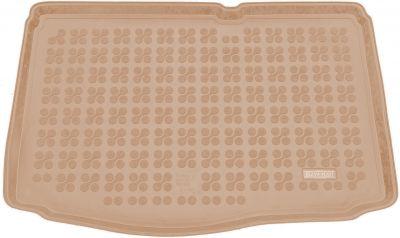 REZAW-PLAST beżowy gumowy dywanik mata do bagażnika Hyundai i20 Premium od 2014r. 230636B/Z