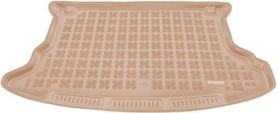 REZAW-PLAST beżowy gumowy dywanik mata do bagażnika KIA Sportage II od 2004-2010r. 230718B/Z