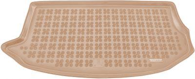 REZAW-PLAST beżowy gumowy dywanik mata do bagażnika KIA Soul XL od 2009r. 230728B/Z