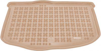 REZAW-PLAST beżowy gumowy dywanik mata do bagażnika KIA Soul M / Soul L od 2009r. 230729B/Z