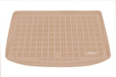 REZAW-PLAST beżowy gumowy dywanik mata do bagażnika KIA Venga od 2010r. 230758B/Z