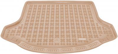 REZAW-PLAST beżowy gumowy dywanik mata do bagażnika KIA Sportage III od 2010-2016r. 230733B/Z