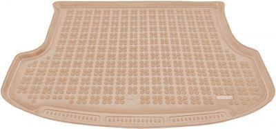 REZAW-PLAST beżowy gumowy dywanik mata do bagażnika KIA Sorento 5os od 2009-2014r. 230735B/Z