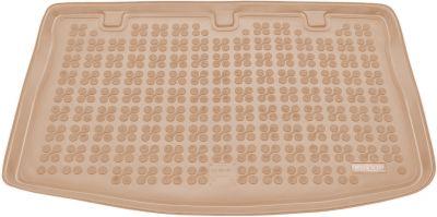 REZAW-PLAST beżowy gumowy dywanik mata do bagażnika KIA Rio III Hatchback od 2011-2017r. 230736B/Z