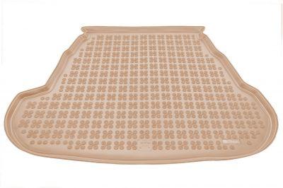 REZAW-PLAST beżowy gumowy dywanik mata do bagażnika KIA Optima III od 2010-2015r. 230737B/Z