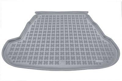 REZAW-PLAST popielaty gumowy dywanik mata do bagażnika Kia Optima III od 2010-2015r. 230737S/Z
