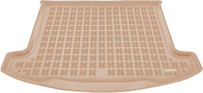 REZAW-PLAST beżowy gumowy dywanik mata do bagażnika KIA Carens 5os od 2013r. 230740B/Z