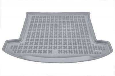 REZAW-PLAST popielaty gumowy dywanik mata do bagażnika Kia Carens 7os. od 2013r. 230741S/Z