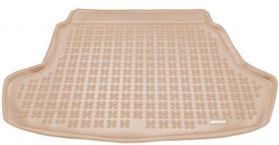 REZAW-PLAST beżowy gumowy dywanik mata do bagażnika KIA Optima IV od 2015r. 230745B/Z