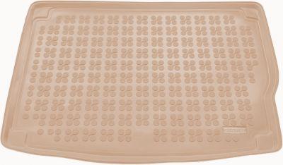 REZAW-PLAST beżowy gumowy dywanik mata do bagażnika Kia Niro Hybryda od 2016r. 230747B/Z