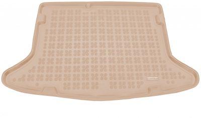 REZAW-PLAST beżowy gumowy dywanik mata do bagażnika Kia Niro od 2016r. 230754B/Z