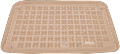REZAW-PLAST beżowy gumowy dywanik mata do bagażnika Mercedes A-klasa W169 od 09/2004-2012r. 230904B/Z