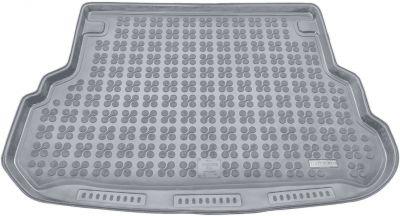 REZAW-PLAST popielaty gumowy dywanik mata do bagażnika Mercedes GLK od 2009-2014r. 230927S/Z