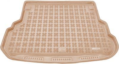 REZAW-PLAST beżowy gumowy dywanik mata do bagażnika Mercedes GLK od 2009-2014r. 230927B/Z