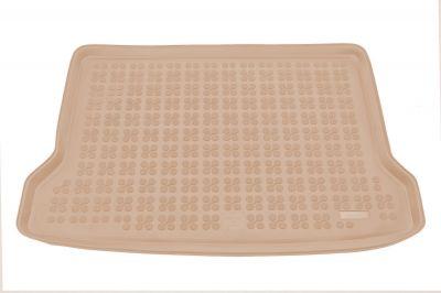 REZAW-PLAST beżowy gumowy dywanik mata do bagażnika Mercedes GLA od 2014r. 230939B/Z