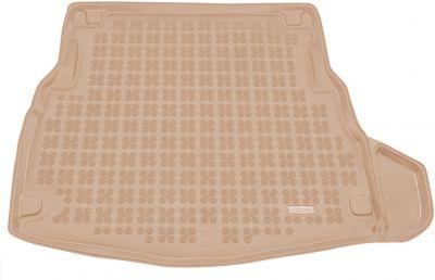 REZAW-PLAST beżowy gumowy dywanik mata do bagażnika Mercedes C-klasa W205 Limuzyna od 2014r. 230940B/Z