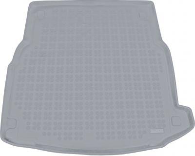 REZAW-PLAST popielaty gumowy dywanik mata do bagażnika Mercedes E-klasa W213 Sedan od 2016r. 230949S/Z