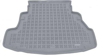 REZAW-PLAST popielaty gumowy dywanik mata do bagażnika Nissan Primera Sedan od 2002-2007r. 231014S/Z