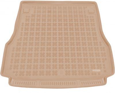 REZAW-PLAST beżowy gumowy dywanik mata do bagażnika Nissan Primera Kombi od 2002-2007r. 231015B/Z