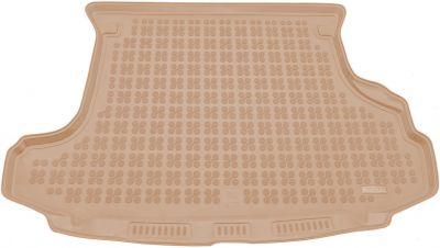 REZAW-PLAST beżowy gumowy dywanik mata do bagażnika Nissan X-Trail I od 06/2001-08/2007r. 231016B/Z