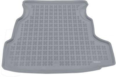 REZAW-PLAST popielaty gumowy dywanik mata do bagażnika Nissan Primera Hatchback od 2002-2007r. 231017S/Z