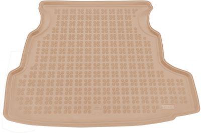 REZAW-PLAST beżowy gumowy dywanik mata do bagażnika Nissan Primera Hatchback od 2002-2007r. 231017B/Z