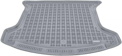 REZAW-PLAST popielaty gumowy dywanik mata do bagażnika Nissan Qashqai+2 7os. od 2008-2013r. 231027S/Z