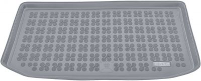 REZAW-PLAST popielaty gumowy dywanik mata do bagażnika Nissan Micra III / IV K13 od 2010-2016r. 231031S/Z