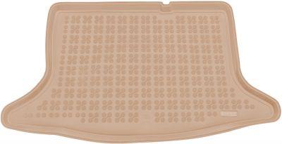 REZAW-PLAST beżowy gumowy dywanik mata do bagażnika Nissan Pulsar od 2014r. 231037B/Z