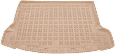 REZAW-PLAST beżowy gumowy dywanik mata do bagażnika Nissan X-Trail III 7os. od 2013r. 231040B/Z