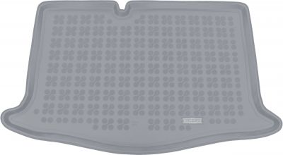 REZAW-PLAST popielaty gumowy dywanik mata do bagażnika Nissan Micra V K14 od 2016r. 231041S/Z