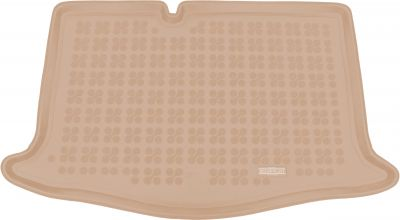REZAW-PLAST beżowy gumowy dywanik mata do bagażnika Nissan Micra V K14 od 2016r. 231041B/Z