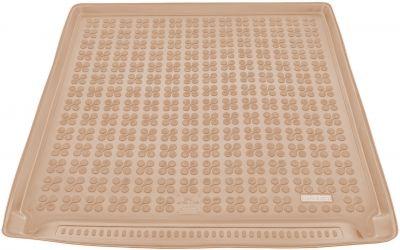 REZAW-PLAST beżowy gumowy dywanik mata do bagażnika Opel Astra IV J Kombi od 2010-2015r. 231139B/Z