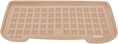 REZAW-PLAST beżowy gumowy dywanik mata do bagażnika Opel Adam od 2013r. 231146B/Z