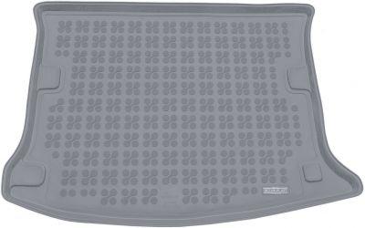REZAW-PLAST popielaty gumowy dywanik mata do bagażnika Dacia Sandero I od 2008-2012r. 231348S/Z