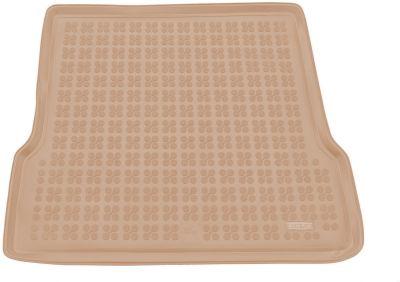 REZAW-PLAST beżowy gumowy dywanik mata do bagażnika Dacia Logan I od 2004-2013r. 231350B/Z