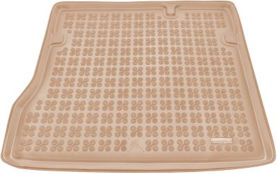 REZAW-PLAST beżowy gumowy dywanik mata do bagażnika Dacia Duster I od 2010-2017r. 231360B/Z