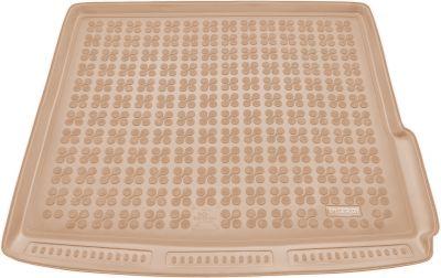 REZAW-PLAST beżowy gumowy dywanik mata do bagażnika Dacia Duster I 4x4 od 2010-2017r. 231361B/Z