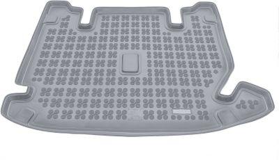 REZAW-PLAST popielaty gumowy dywanik mata do bagażnika Dacia Logdy 7os. od 2012-2017r. 231365S/Z