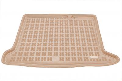 REZAW-PLAST beżowy gumowy dywanik mata do bagażnika Dacia Sandero II od 2012r. 231369B/Z